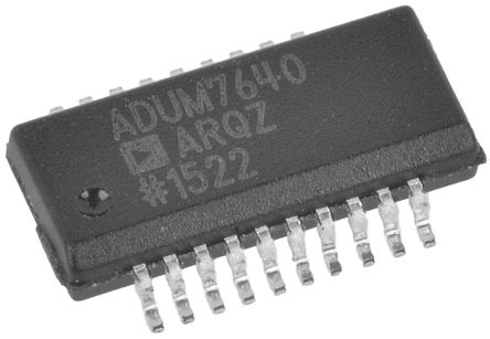 Analog Devices ADUM7640ARQZ , 6-Channel Digital Isolator, 1000 V, 20-Pin (2)
