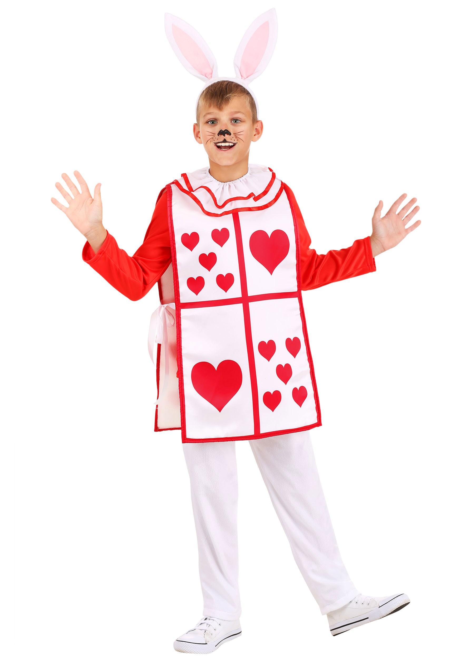 Royal White Rabbit Child's Costume
