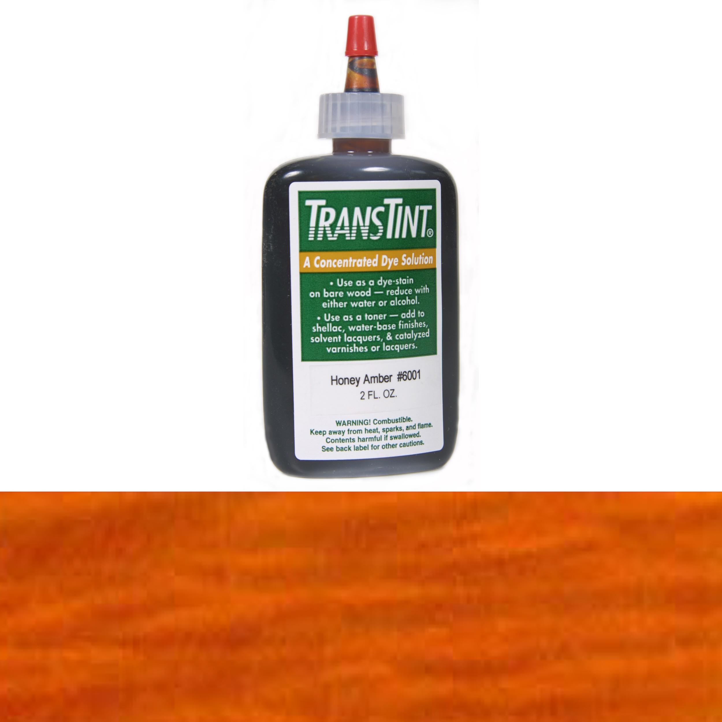 Orange Transtint Alcohol/Water Soluble Dye 1 oz