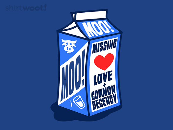 Missing: Love T Shirt