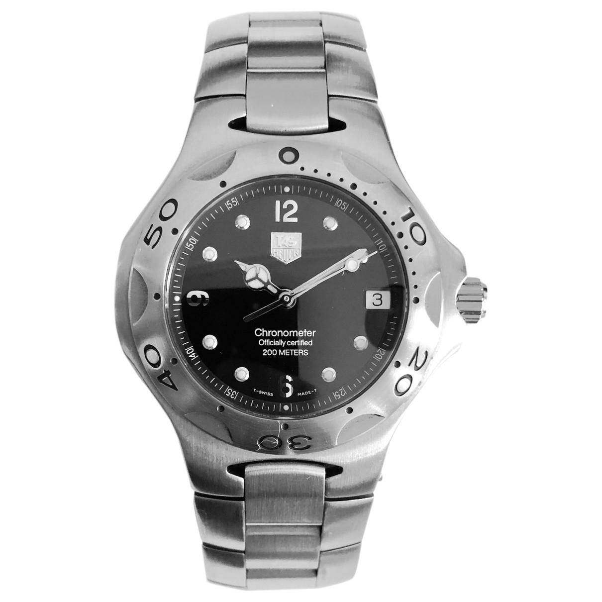 Tag Heuer \N Silver Steel watch for Men \N