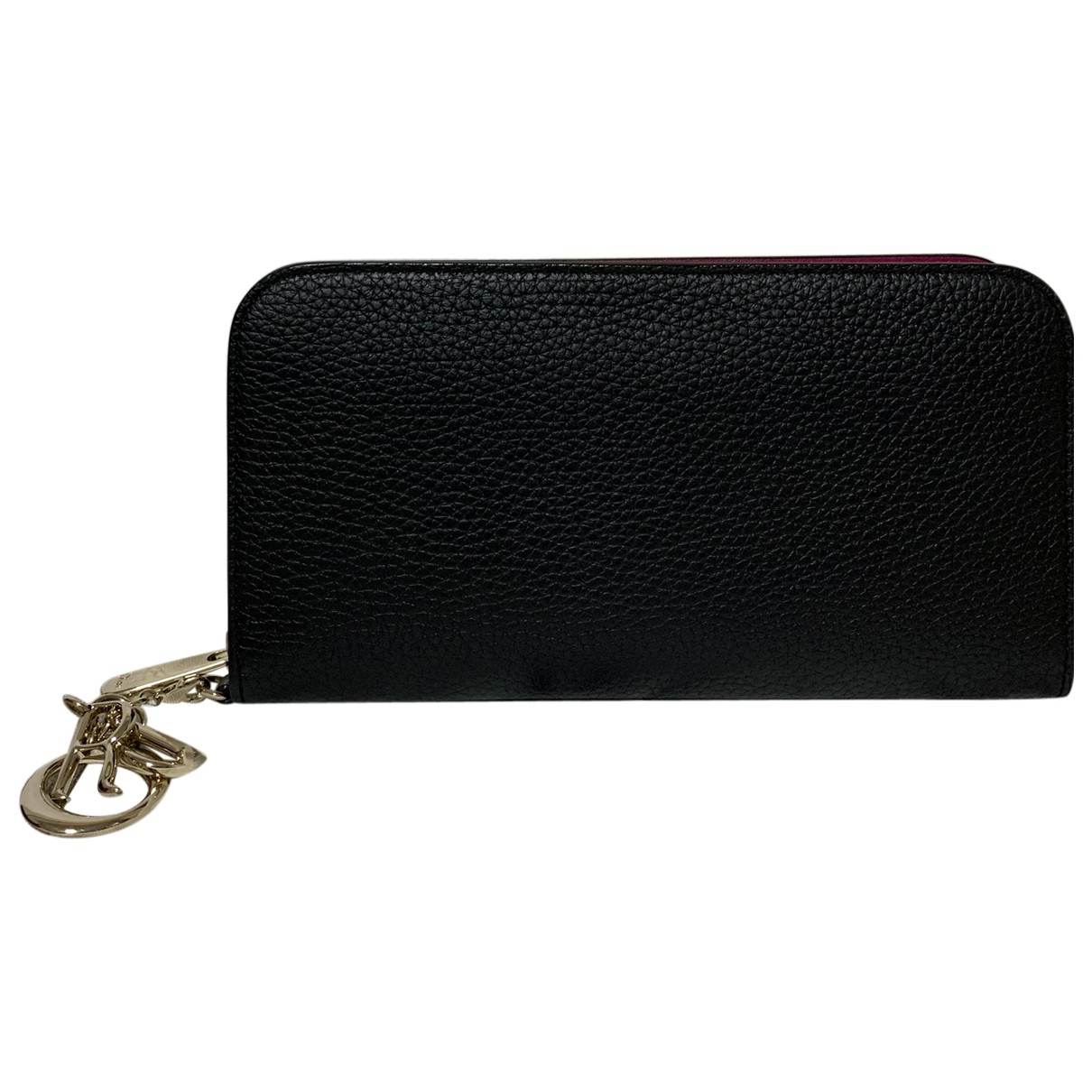 Dior Diorissimo Black Leather wallet for Women \N