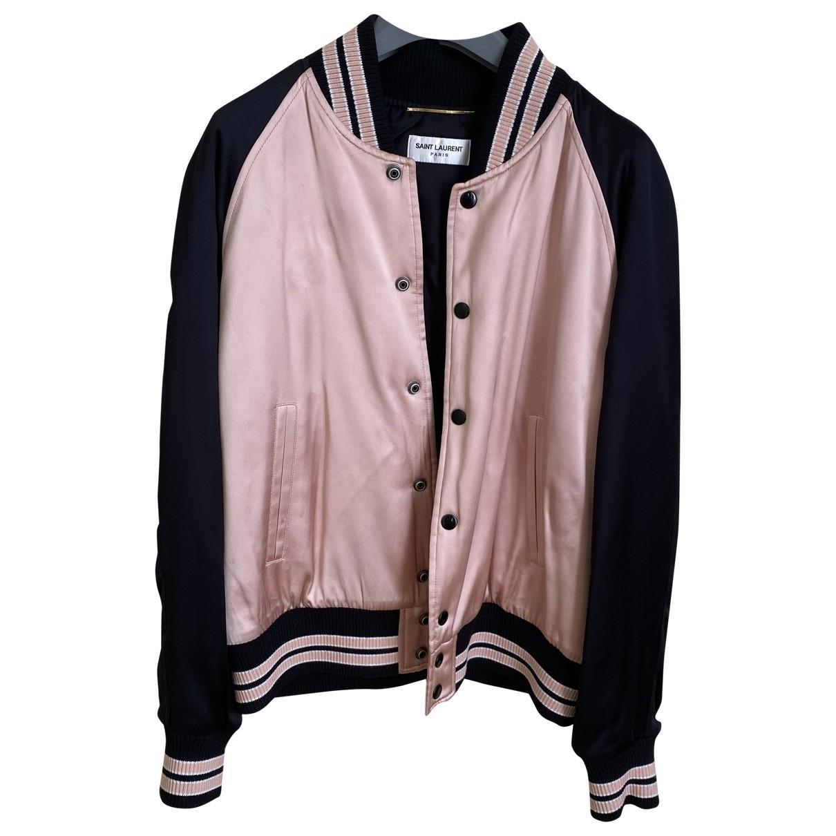 Saint Laurent \N Pink jacket for Women 40 FR