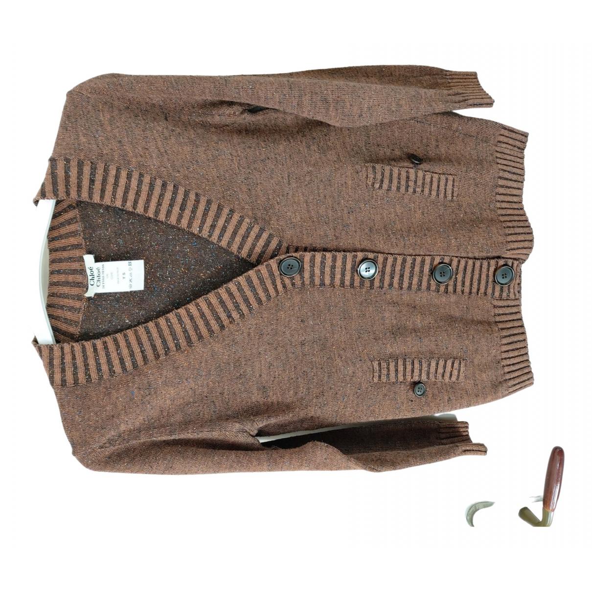 Chloé \N Brown Cotton Knitwear for Women S International