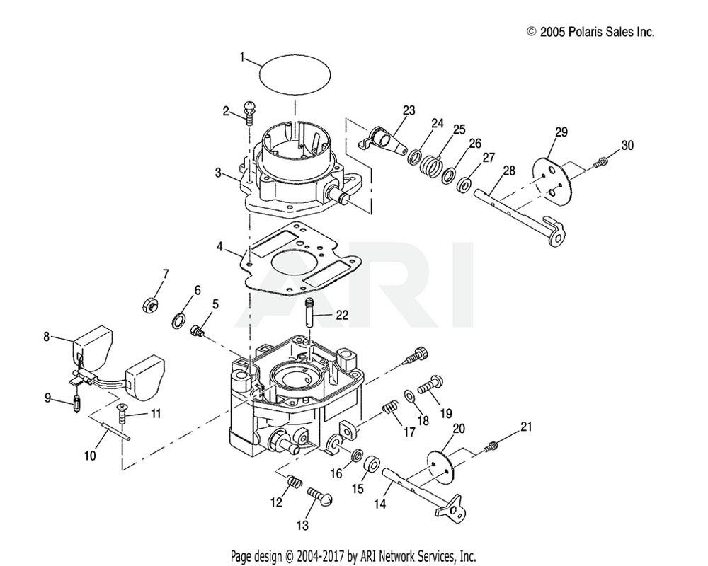 Polaris OEM 3089566 Washer, Throttle Adjust