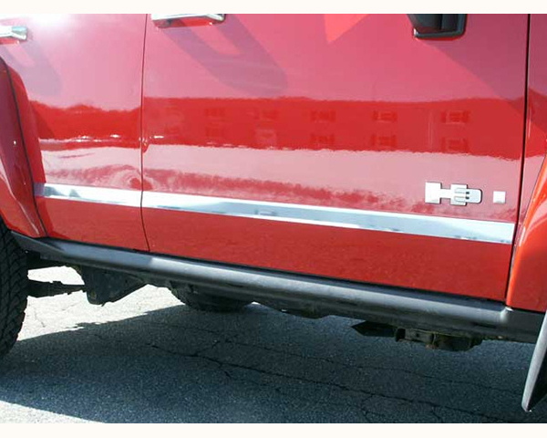 Quality Automotive Accessories 4-Piece 1.75-Inch Width Molding Insert Hummer H3 | H3T 2009