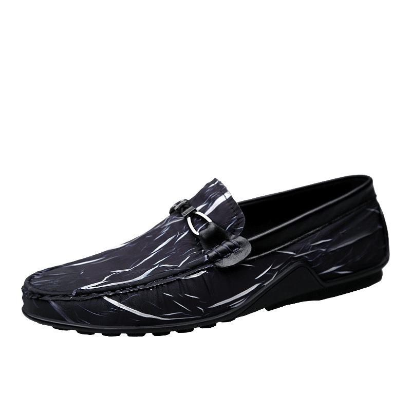 Ericdress Print Stripe Slip-On Men's Casual Shoes