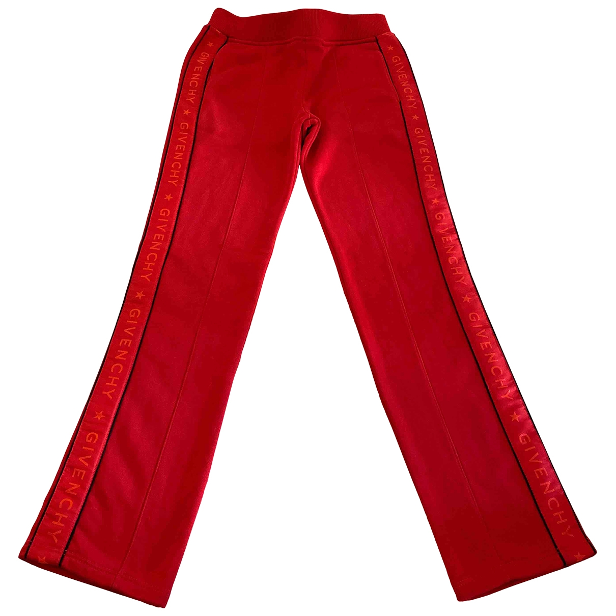Givenchy \N Red Cotton Trousers for Kids 8 years - until 50 inches UK