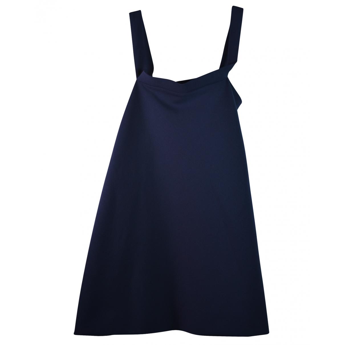 Balenciaga \N Navy Silk dress for Women 36 FR