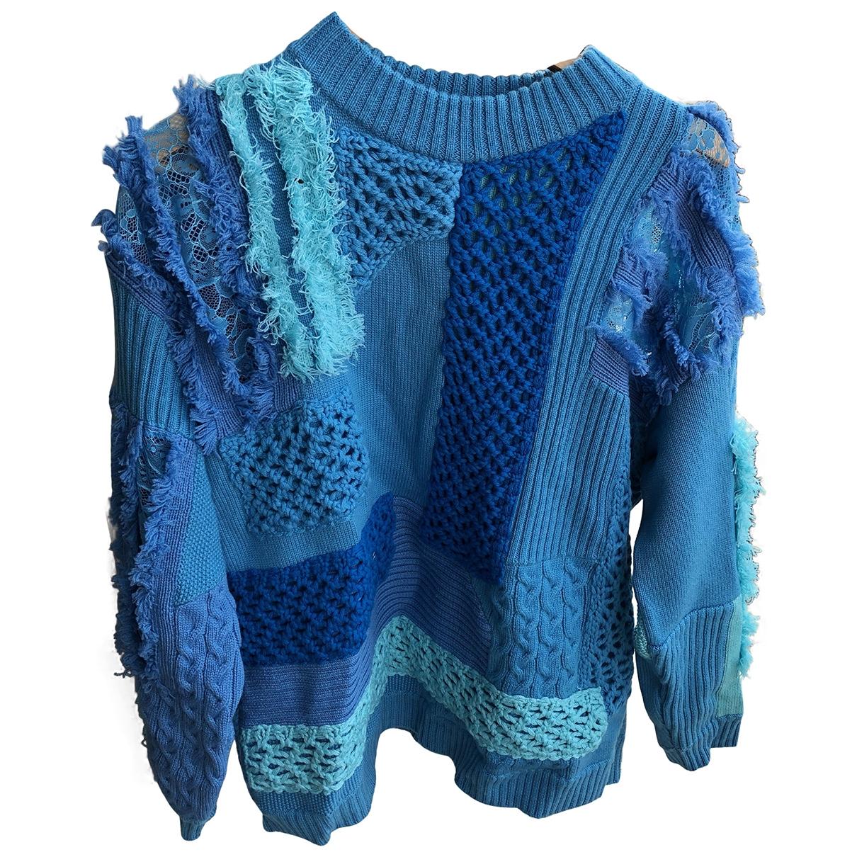 Koche \N Blue Wool Knitwear for Women 38 FR