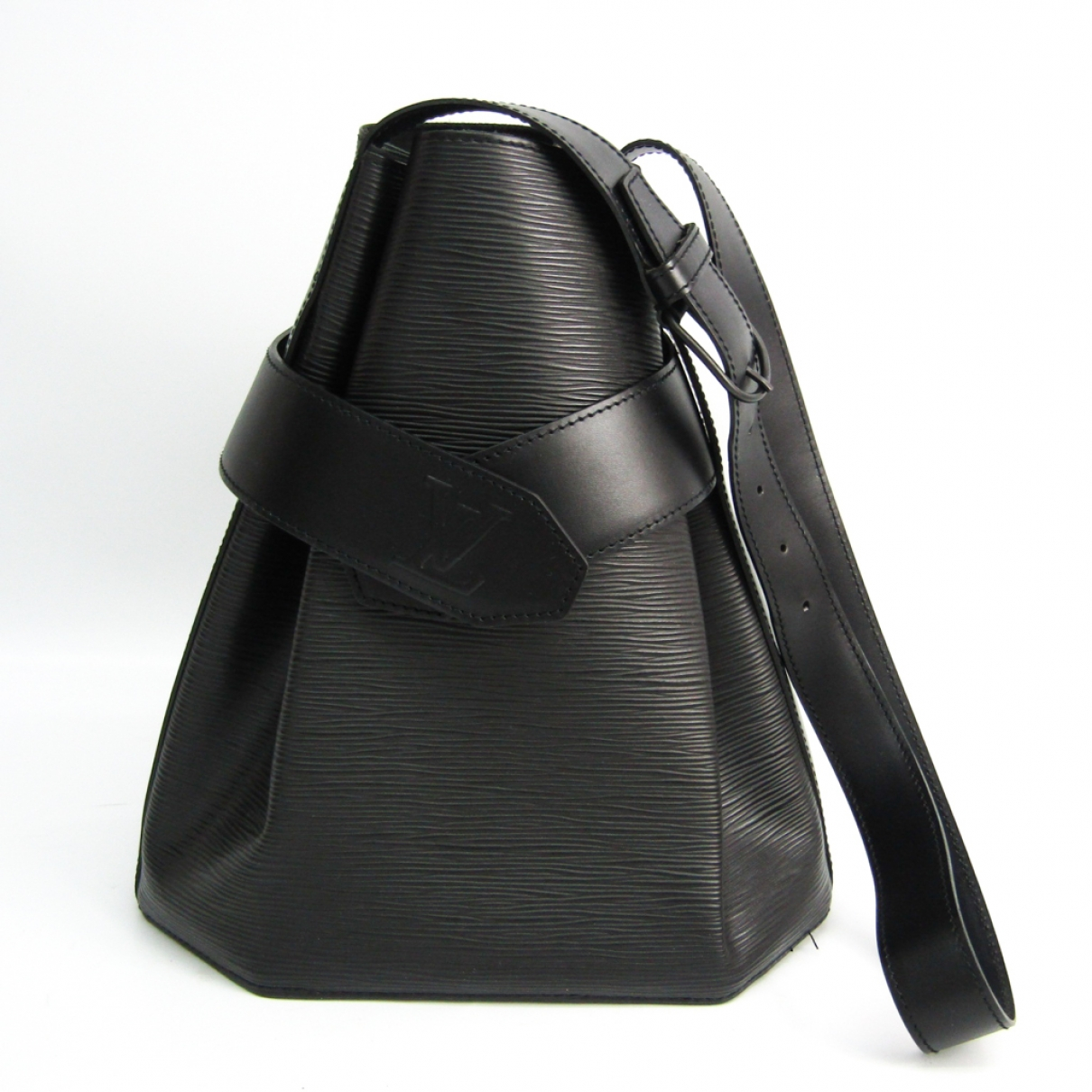 Louis Vuitton Sac d'épaule Black Leather handbag for Women \N