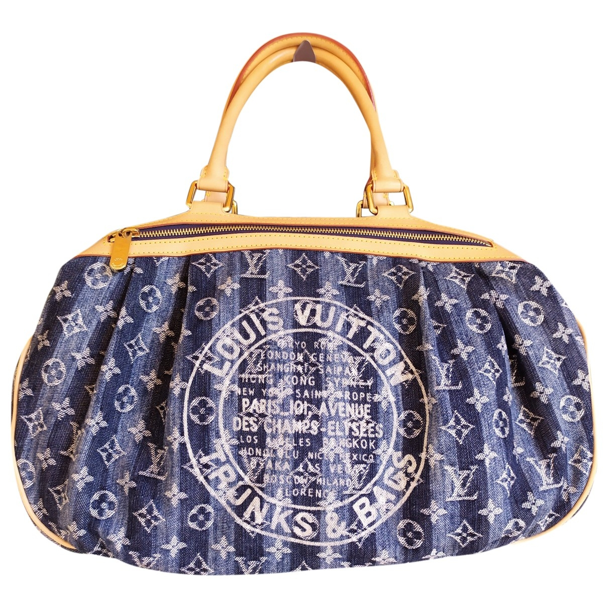 Louis Vuitton \N Blue Denim - Jeans handbag for Women \N