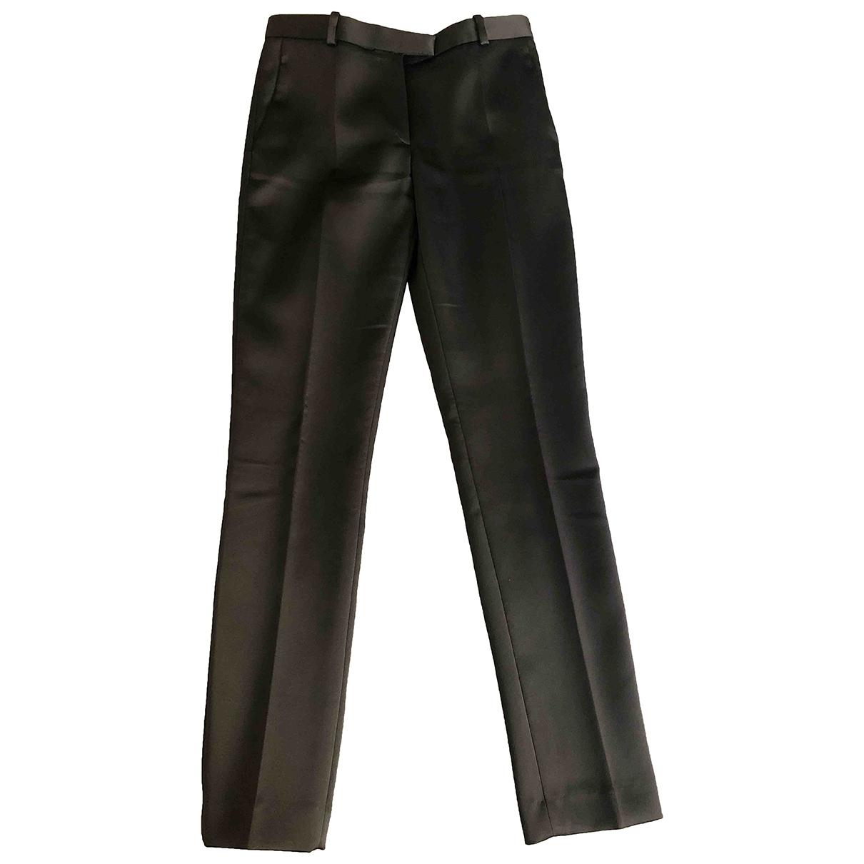 Maje \N Black Trousers for Women 34 FR