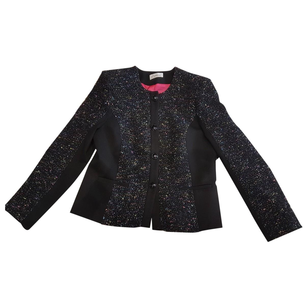 Non Signé / Unsigned \N Multicolour Cotton jacket for Women 40 FR