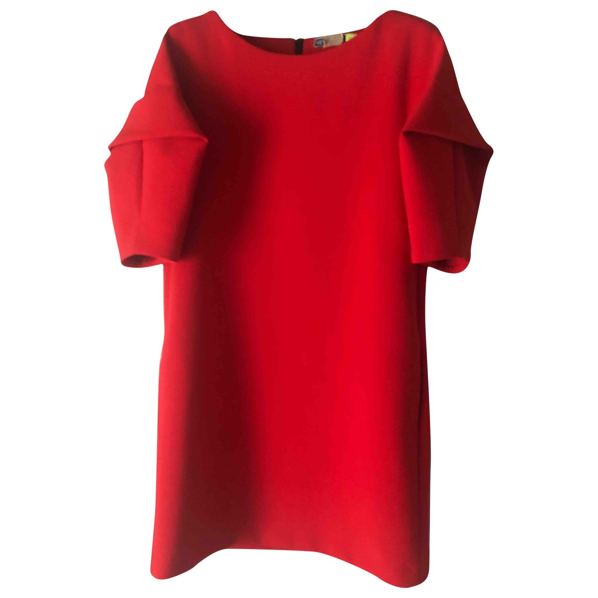 Msgm \N Red Wool dress for Women 38 IT