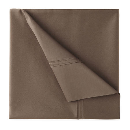JCPenney Home Ultra Performance 575tc Sateen Deep Pocket Sheet Set, One Size , Beige