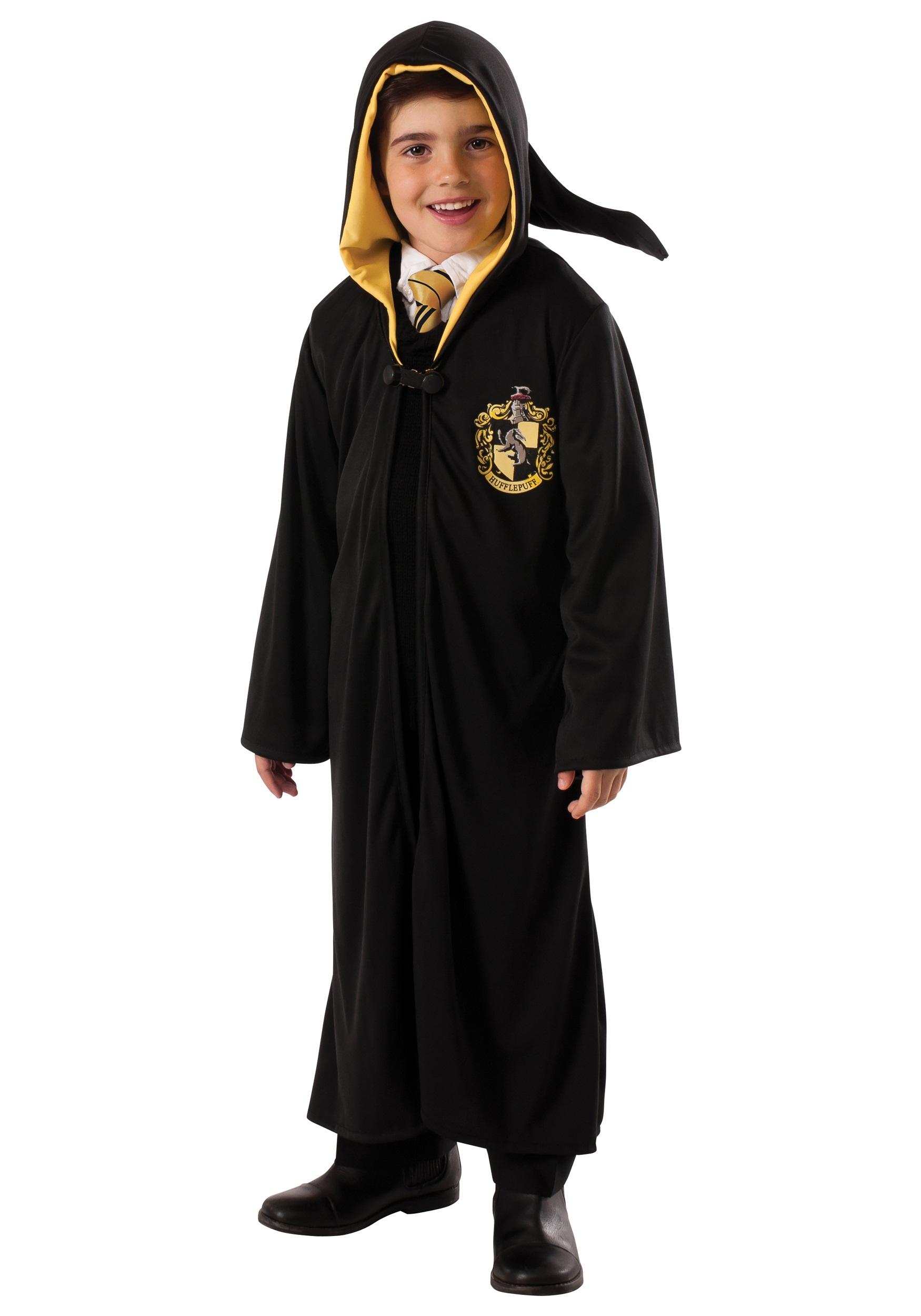 Hogwarts Hufflepuff Robe Costume for Kids
