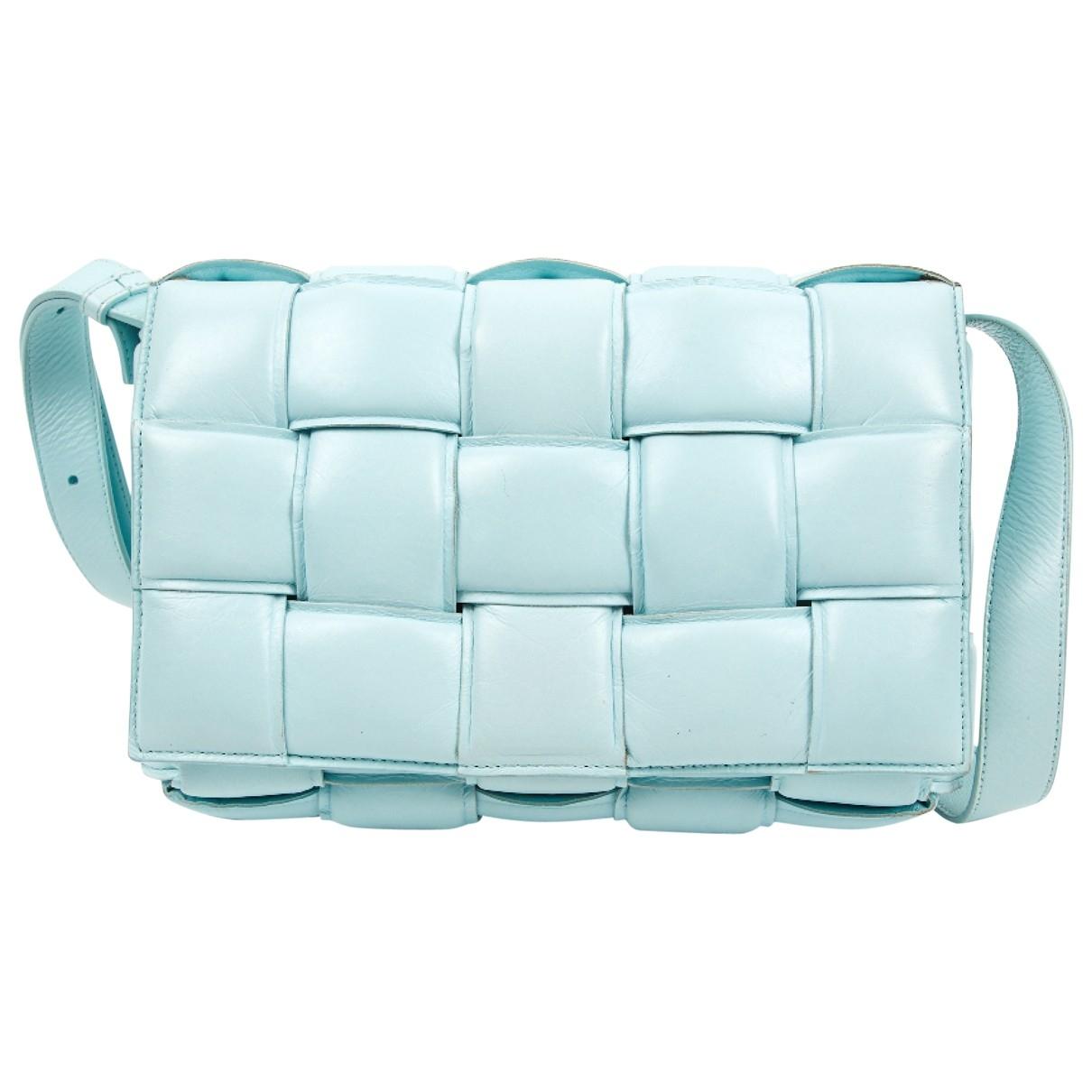 Bottega Veneta Cassette Blue Leather handbag for Women \N