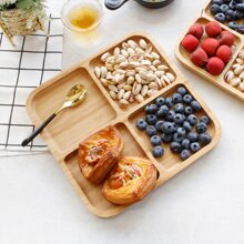 Wooden Snack Tray