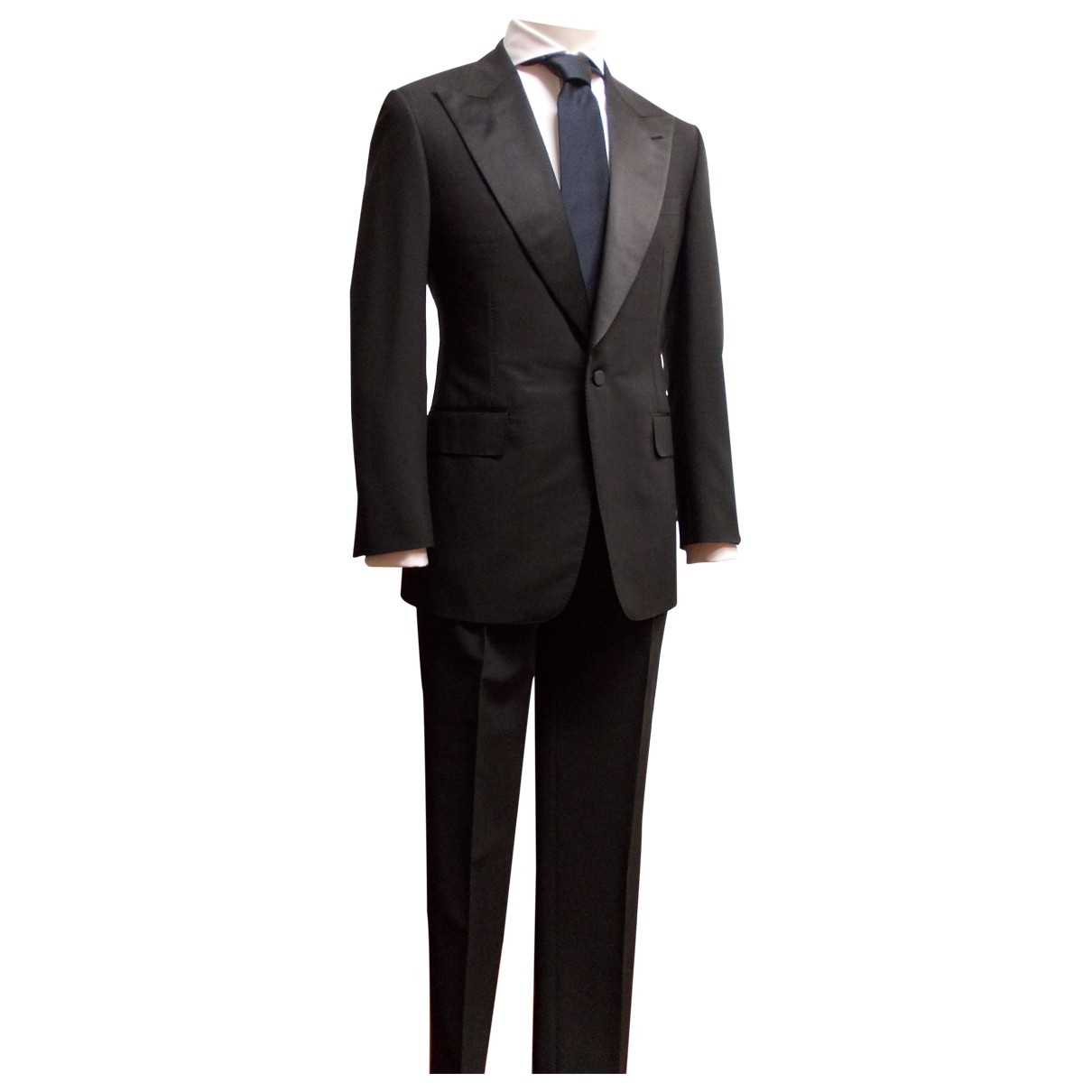 Gucci \N Black Wool Suits for Men 50 IT