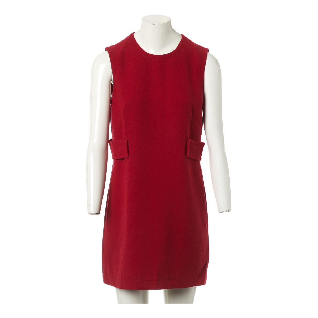 Prada \N Red Wool dress for Women 42 IT