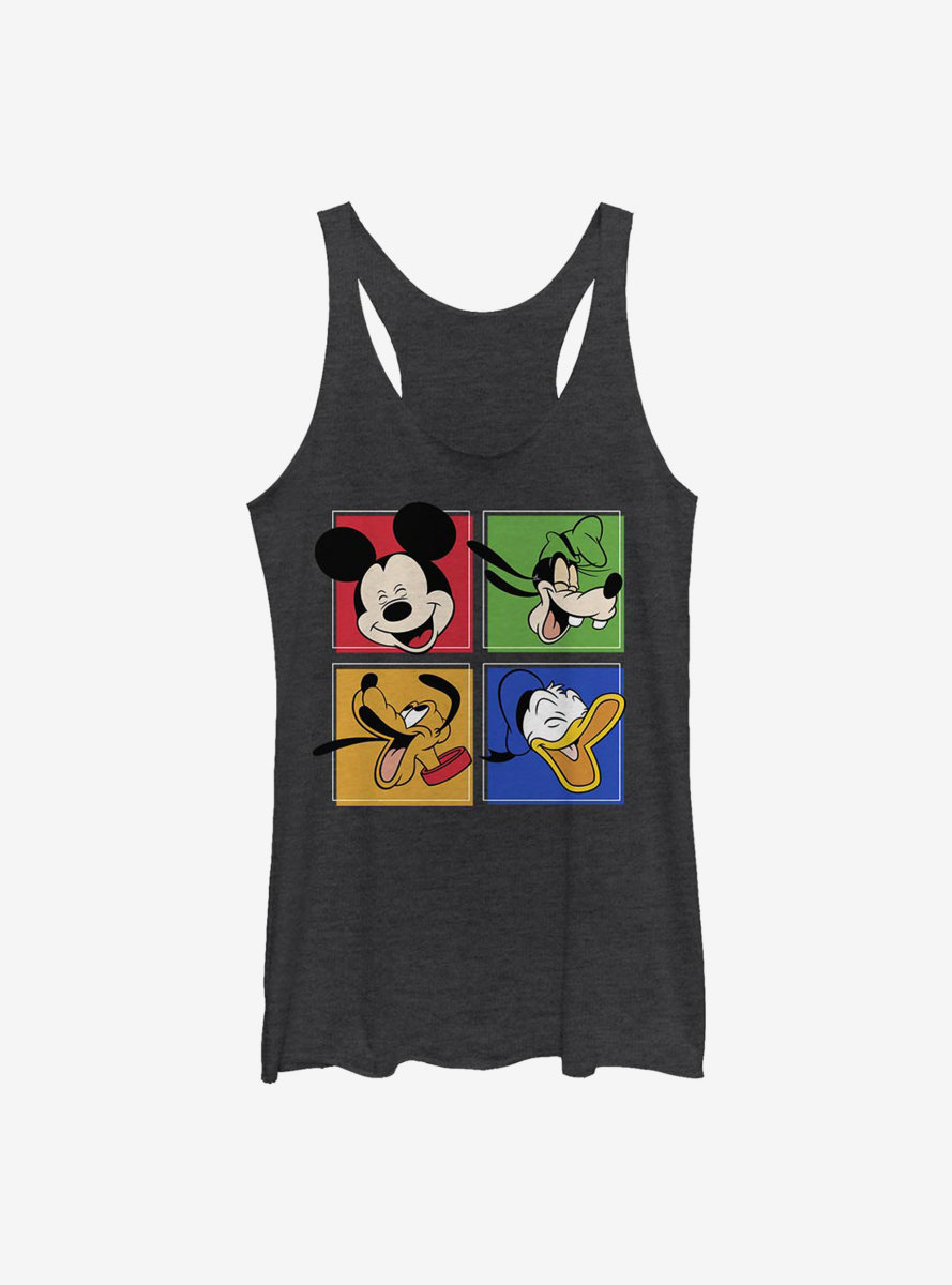 Disney Mickey Mouse And Friends Womens Tank Top