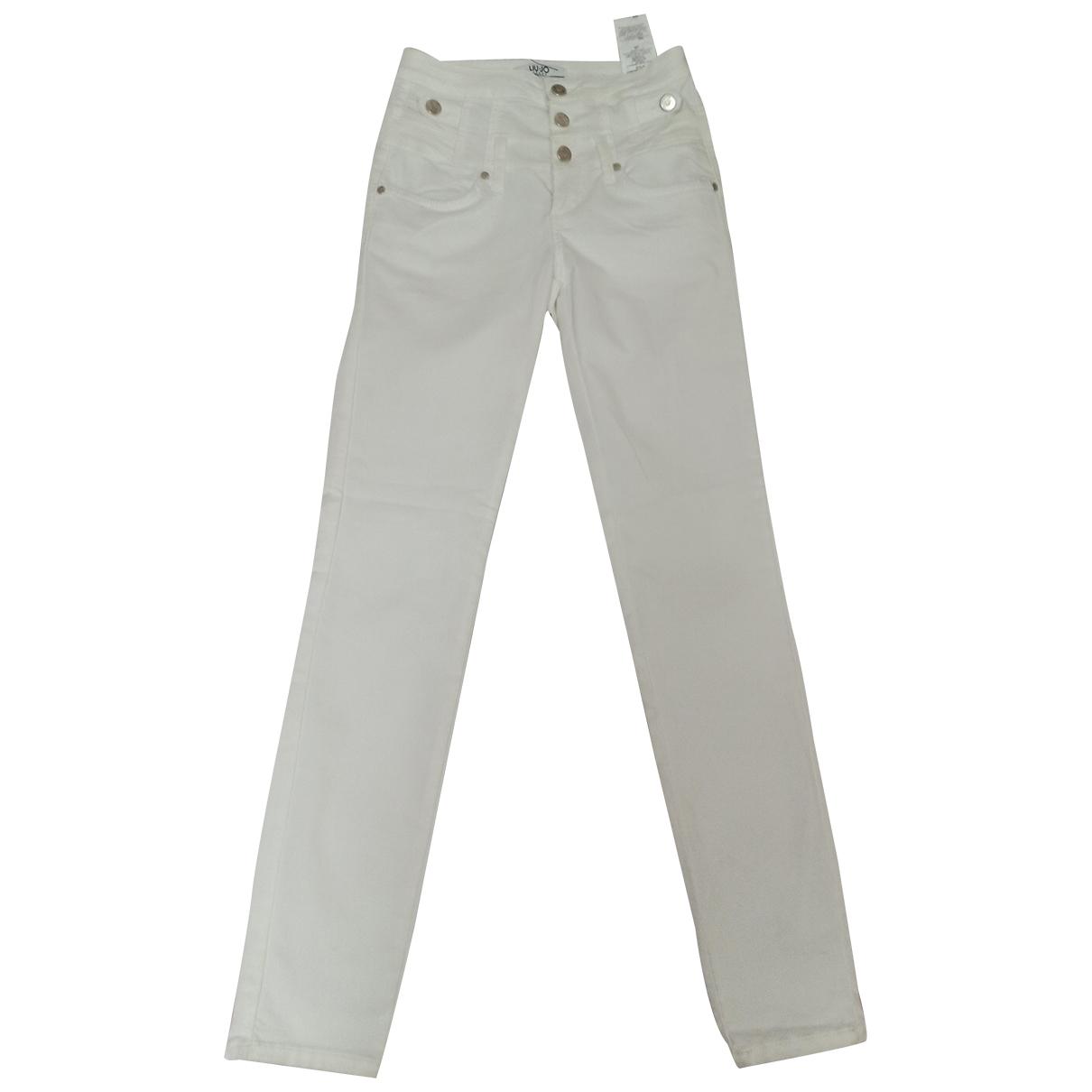 Liu.jo \N White Denim - Jeans Jeans for Women 34 FR