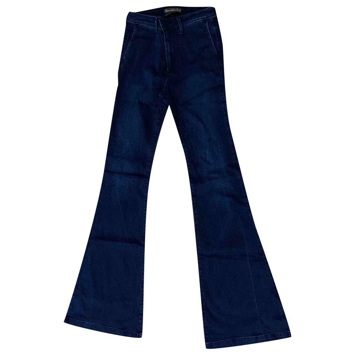 Abercrombie & Fitch \N Navy Denim - Jeans Jeans for Women 24 US