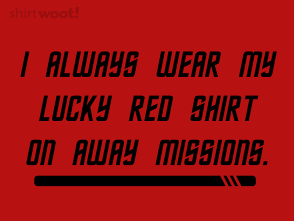 Away Mission Superstitions T Shirt