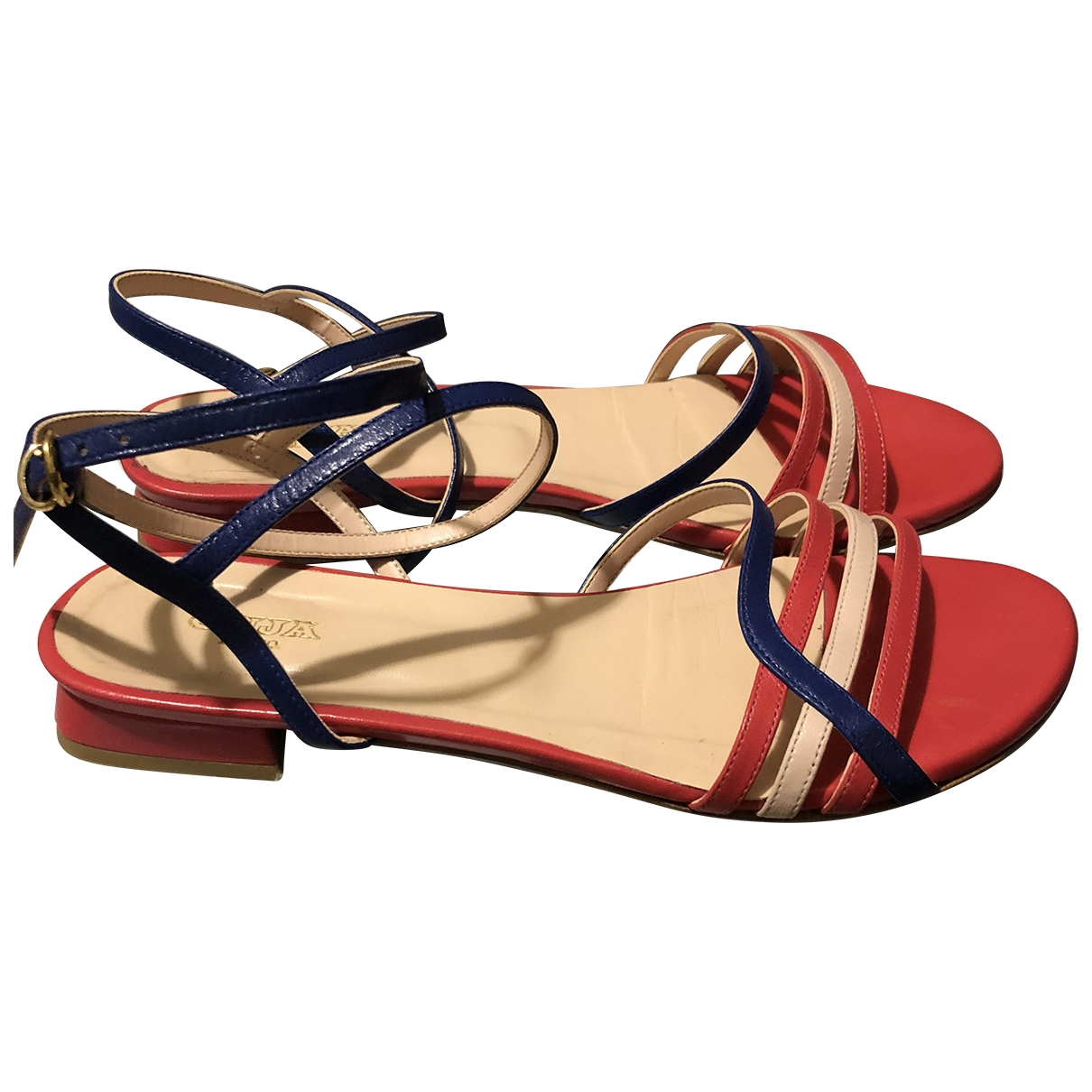 Non Signé / Unsigned \N Leather Sandals for Women 40 IT