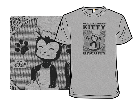 Old Fashioned Kitty Biscuits T Shirt