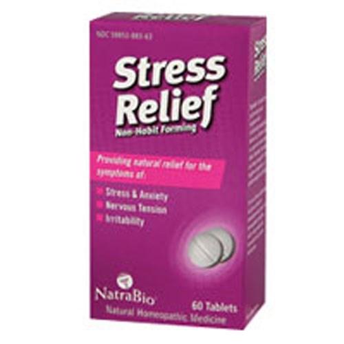 Stress Relief 60 Tabs by NatraBio