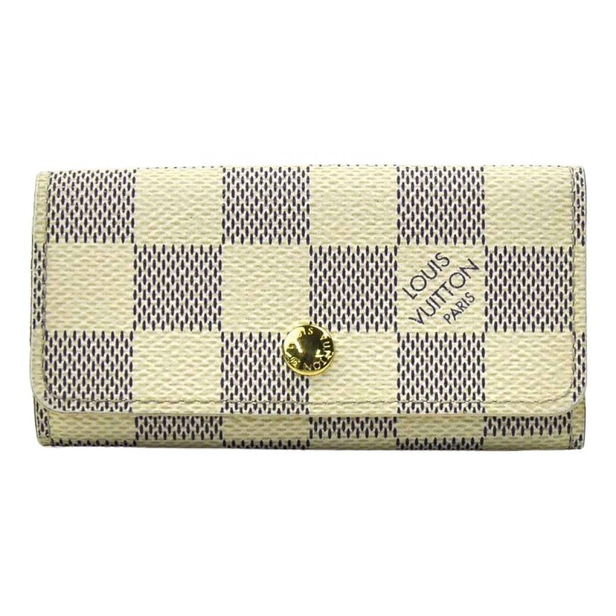 Louis Vuitton \N White Cloth Purses, wallet & cases for Women \N