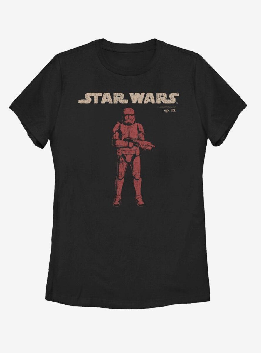 Star Wars Episode IX The Rise Of Skywalker Vigilant Womens T-Shirt