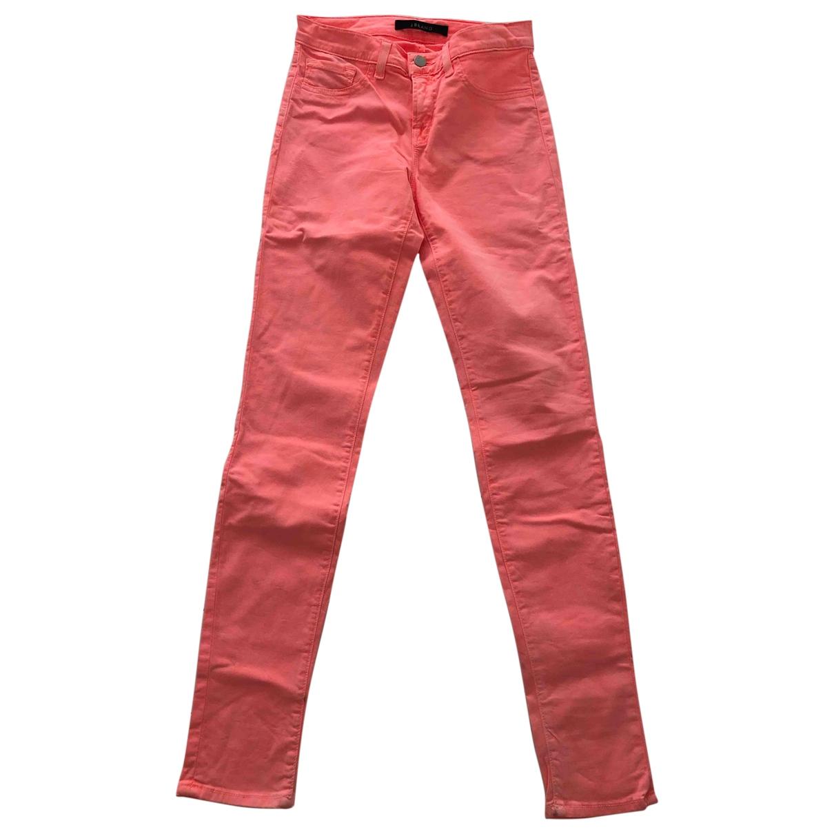 J Brand \N Orange Denim - Jeans Trousers for Women XS International