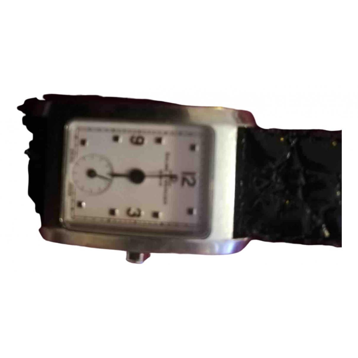 Baume Et Mercier \N Silver Steel watch for Women \N