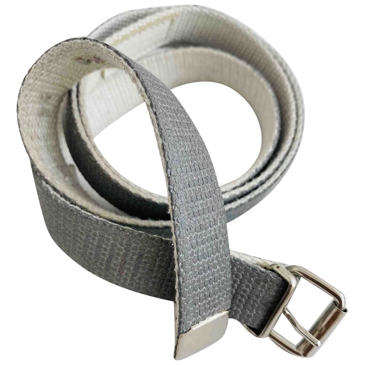 Maison Martin Margiela \N Silver Cloth belt for Men M international