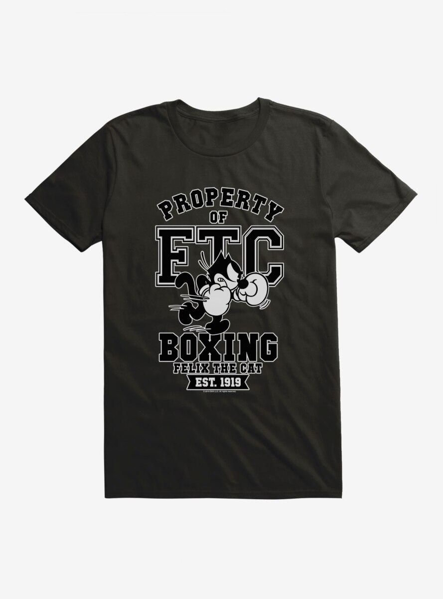 Felix The Cat Property of FTC Boxing T-Shirt