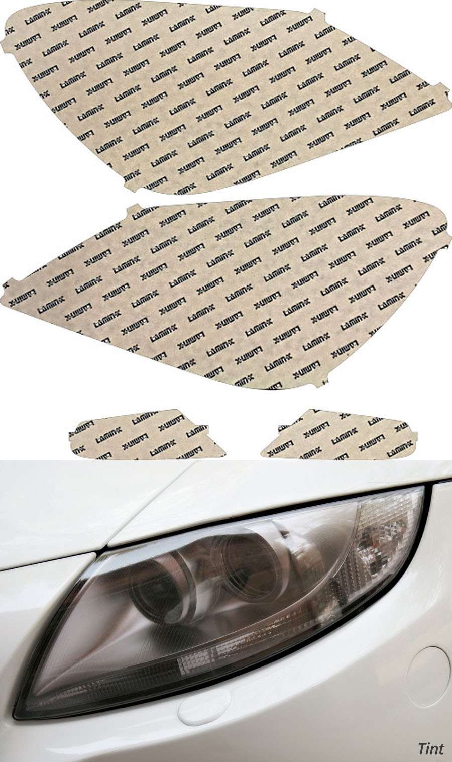 Honda Odyssey 05-07 Tint Headlight Covers Lamin-X H030T