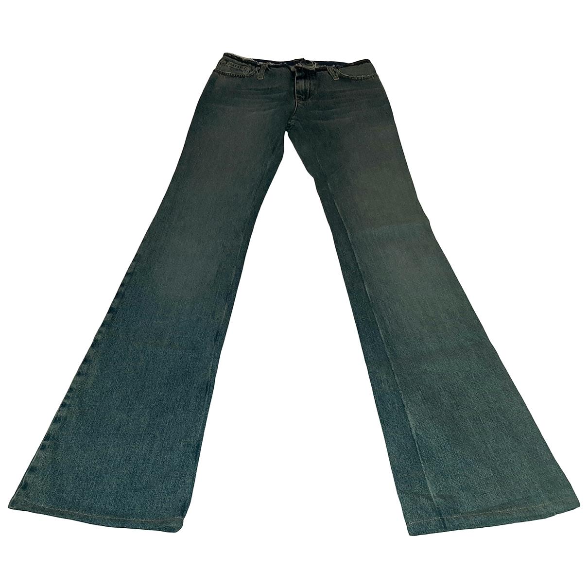 John Richmond \N Blue Denim - Jeans Jeans for Women 36 FR