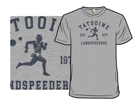 Tatooine Landspeeders T Shirt