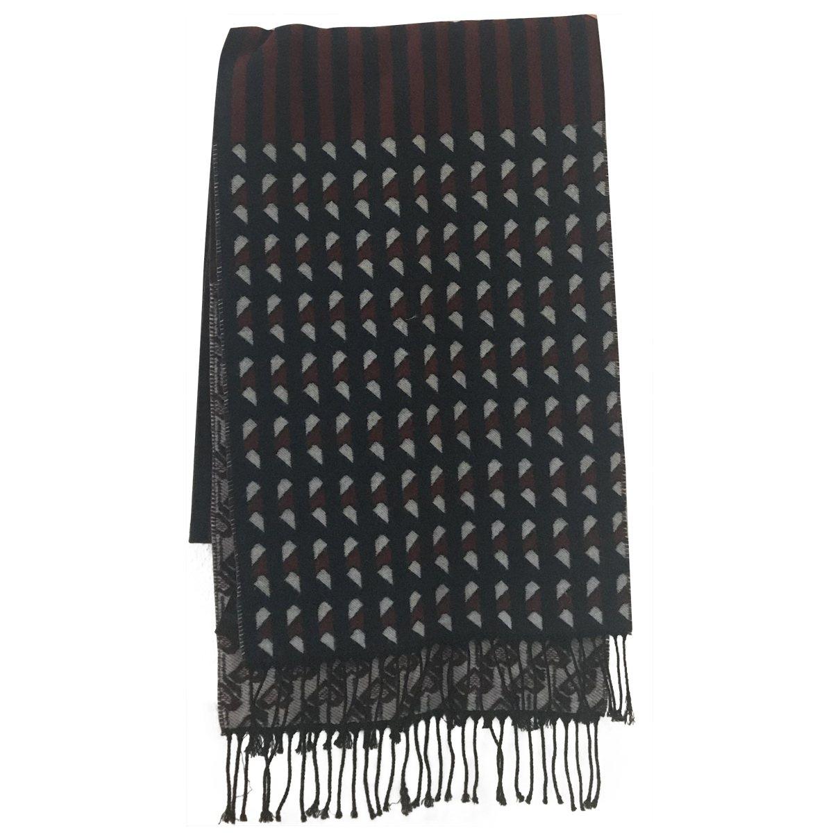 Maje \N Burgundy Wool scarf for Women \N