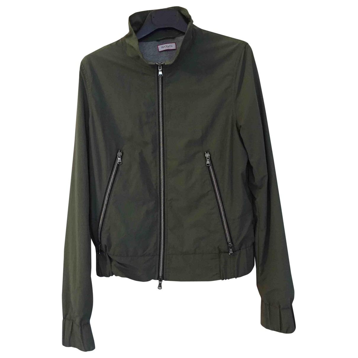 Max & Co \N Green jacket for Women 42 IT
