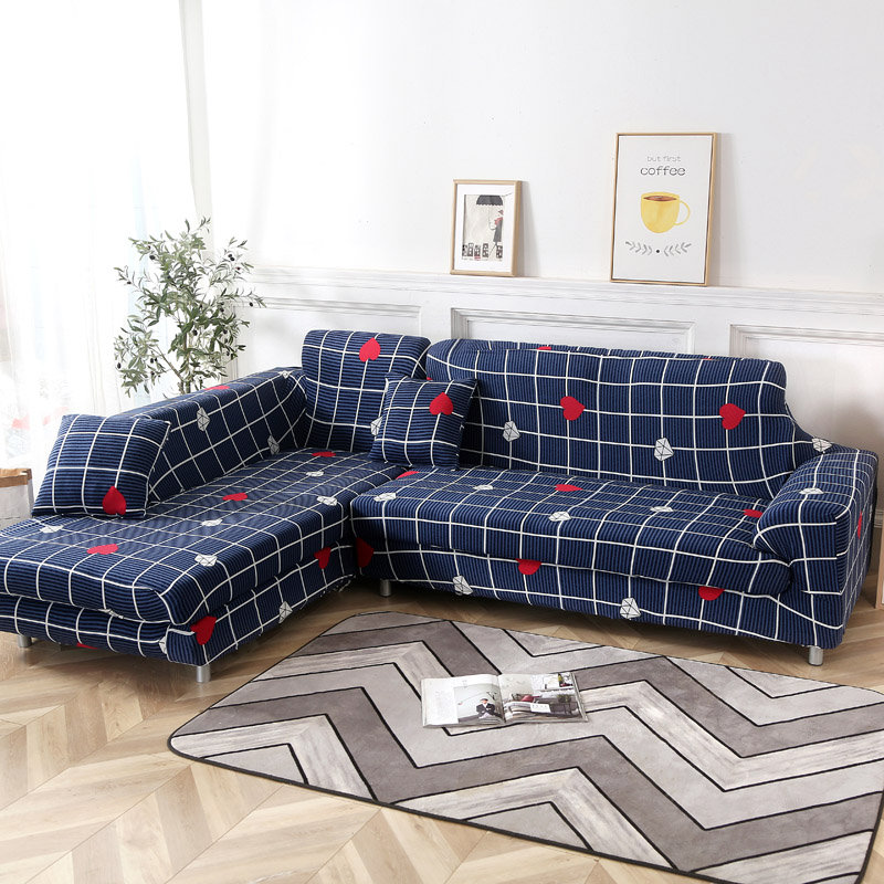 KCASA 1/2/3/4 Seat Elastic Couch Sofa Cover Armchair Slipcovers for Living Room Chair Covers Home
