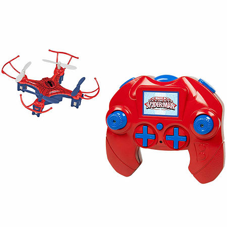Marvel Avengers Spider Man Micro Drone 4.5CH 2.4GHz RC Quadcopter, One Size , Multiple Colors