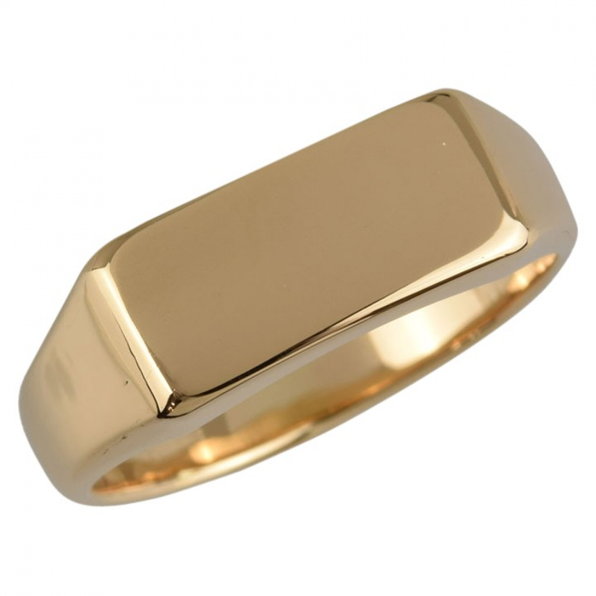 Non Signé / Unsigned \N Gold Yellow gold ring for Women 59 EU