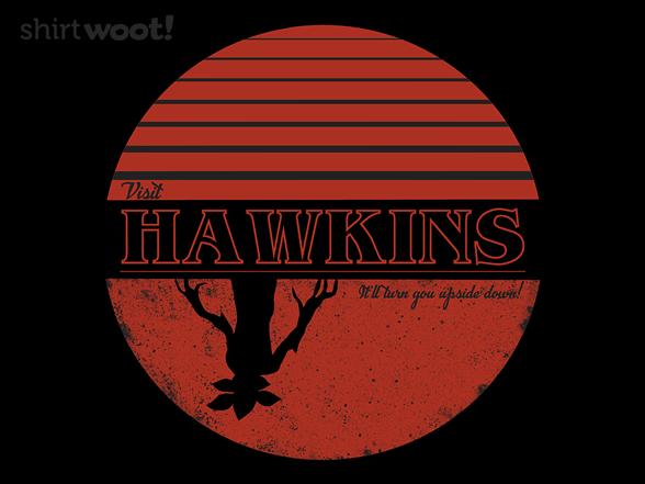 Visit Scenic Hawkins T Shirt