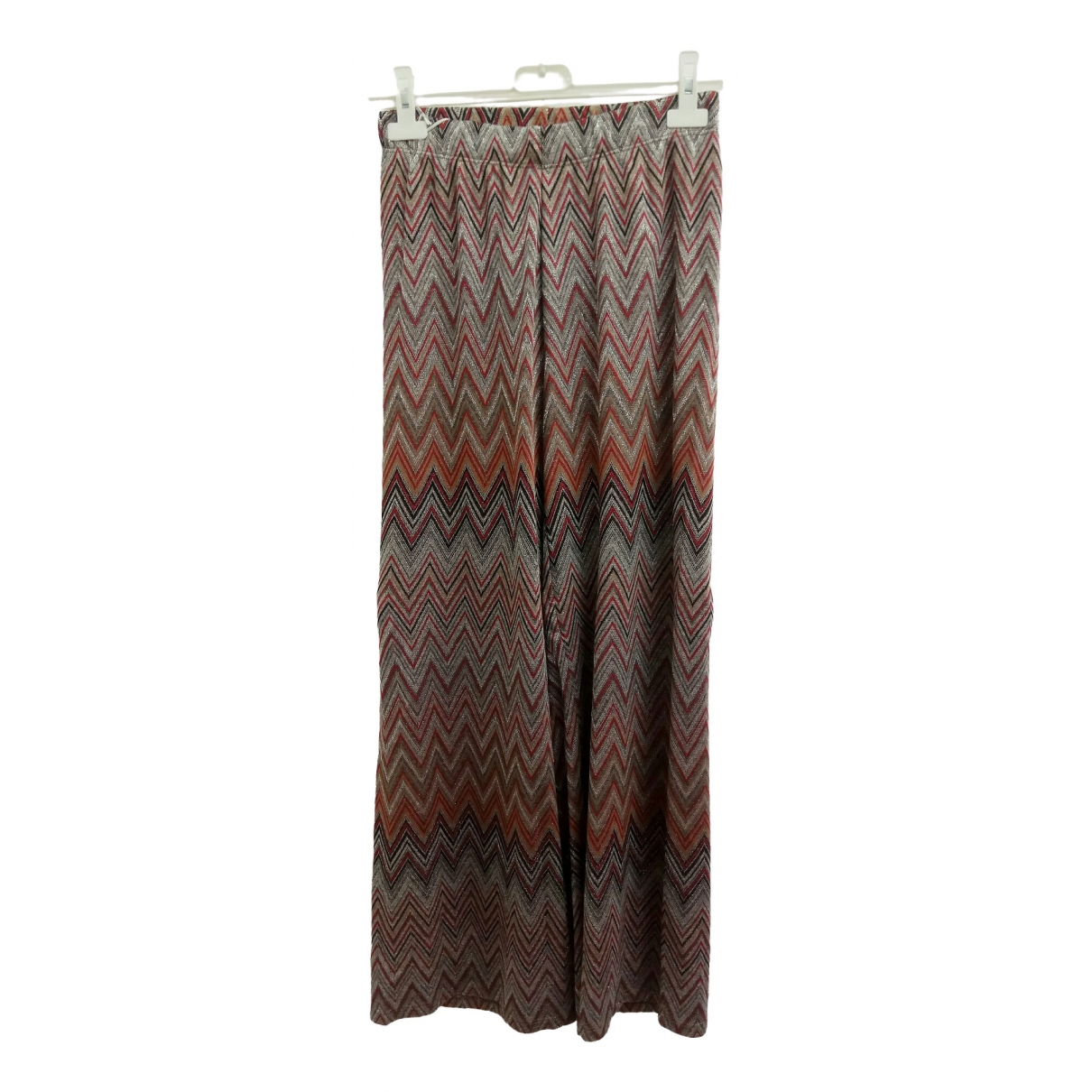 Non Signé / Unsigned \N Multicolour Trousers for Women One Size FR
