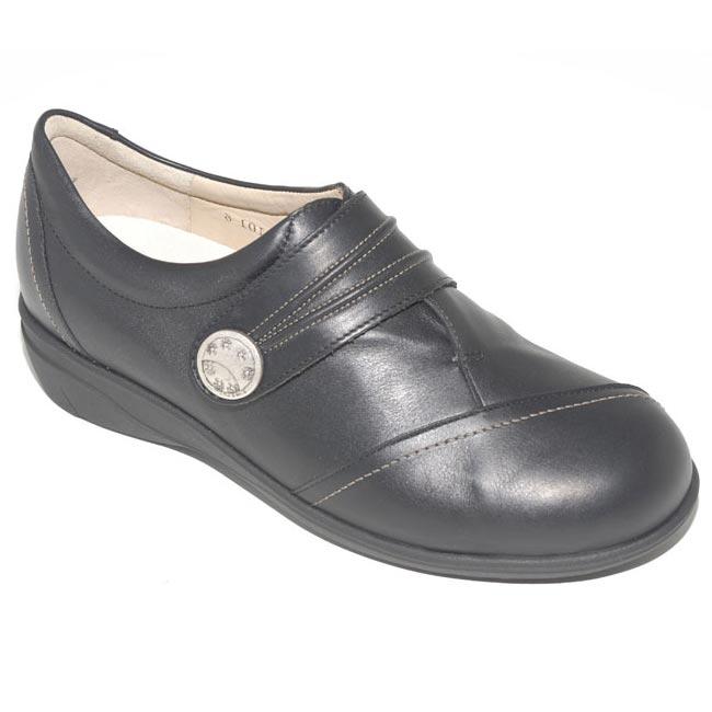 Finn Comfort Galway Black Leather 8 Uk