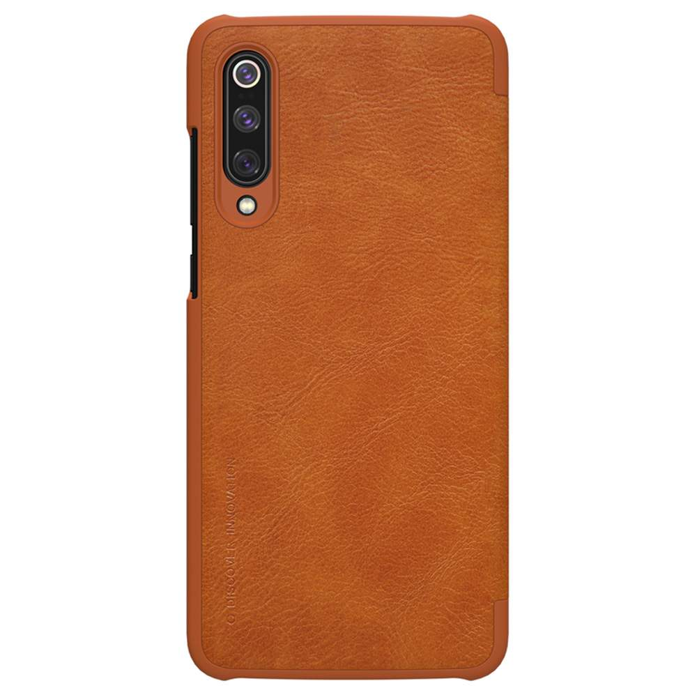 NILLKIN Protective Leather Phone Case For Xiaomi Mi 9 Pro Smartphone - Brown